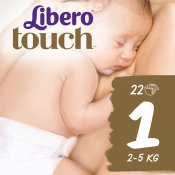 8f95d5826068e Одноразовые подгузники Libero Touch 1 (2-5 кг) 22 шт. | Купить в ...