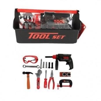 Купить со скидкой Игровой набор Keyi Tool set Ящик с инструментами, 18 предметов (KY1068-304)