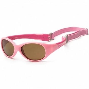 Купить Аксессуары к одежде, Детские солнцезащитные очки Koolsun Flex, 36М+, розовый (KS-FLPS003), Розовый