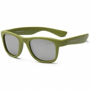 Купить Аксессуары к одежде, Детские солнцезащитные очки Koolsun Wave, 36М+, хаки (KS-WAOB003), Хаки
