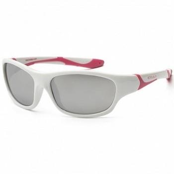 Купить Аксессуары к одежде, Детские солнцезащитные очки Koolsun Sport, 36М+, белый с розовым (KS-SPWHCA003), Белый