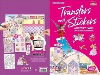 Купить Творчество и канцтовары, Переводные наклейки Scribble Down Сказка о принцессе, с онлайн-приложением (SD/21)