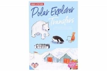 Купить Творчество и канцтовары, Переводные наклейки Scribble Down Северный полюс (SD/15)