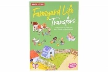 Купить Творчество и канцтовары, Переводные наклейки Scribble Down Жизнь на ферме (SD/14)