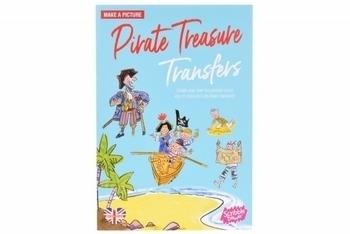 Купить Творчество и канцтовары, Переводные наклейки Scribble Down Пиратские сокровища (SD/04)