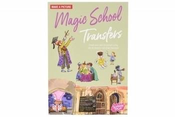 Купить Творчество и канцтовары, Переводные наклейки Scribble Down Школа магии (SD/05)