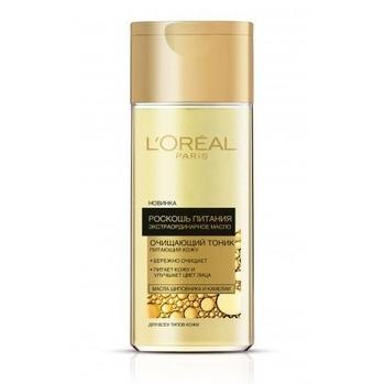 Купить со скидкой Тоник L'Oréal Paris Skin Expert Роскошь питания, для сухого и нормального типа кожи, 200 мл