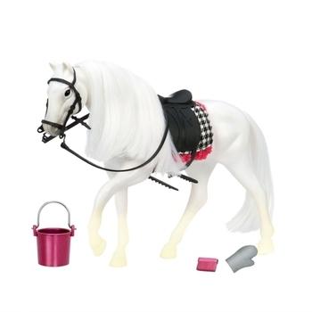 Купить Фигурки, куклы и игрушки-антистресс, Игровая фигурка Lori Белая лошадь с Камарилло (LO38000Z)