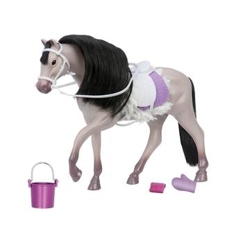 Купить Фигурки, куклы и игрушки-антистресс, Игровая фигурка Lori Андалузская лошадь, серый (LO38001Z)