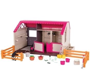 Купить Фигурки, куклы и игрушки-антистресс, Игровой набор Lori Конюшня (LO37053Z)