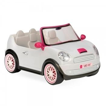 Купить Фигурки, куклы и игрушки-антистресс, Транспорт для кукол Lori Машина, белый (LO37002Z)