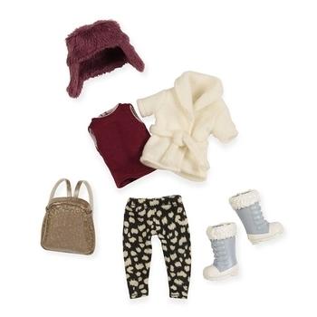 Купить Фигурки, куклы и игрушки-антистресс, Набор одежды для кукол Lori Теплый жакет с шапкой (LO30006Z)