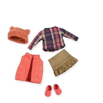 Купить Фигурки, куклы и игрушки-антистресс, Набор одежды для кукол Lori Пуховой жилет (LO30004Z)