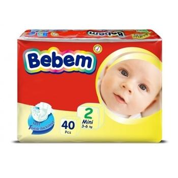 c36de98f3347 Подгузники Bebem 2 Mini (3-6 кг), 40 шт.   Купить в интернет ...