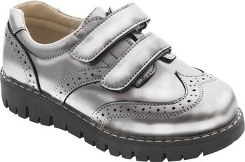 Купить Детская обувь, Туфли Arial, р.33, серебристый (5518-1653), Серебристый