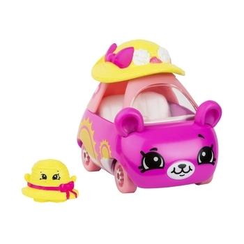 Купить Игрушечный транспорт, Мини-машинка Cutie Cars Shopkins S3 Дама-панама (57116), Розовый