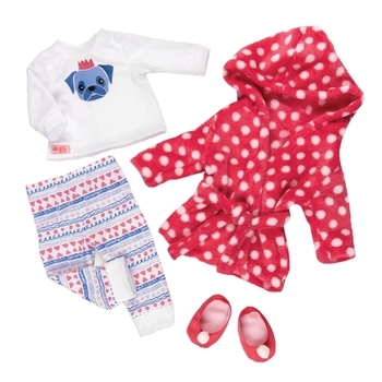 Купить Фигурки, куклы и игрушки-антистресс, Набор одежды для кукол Our Generation Deluxe Одежда для сна (BD30273Z)
