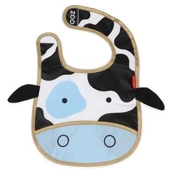 Купить Слюнявчики и нагрудники, Нагрудник-слюнявчик Skip Hop Корова (232124)
