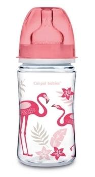 Купить Бутылочки и соски, Антиколиковая бутылочка Canpol Babies Easystart Jungle, 240 мл, коралловый (35/227_cor), Польша, Коралловый