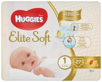 Подгузники Huggies Elite Soft Newborn 1 (3-5 кг), 27 шт.   Купить в ... b1ee00d640f