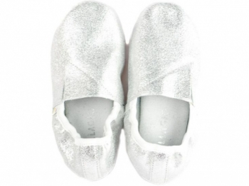 Купить Детская обувь, Чешки Pellagio, кожа, р.35, серебристый (040/34), Украина, Серебристый