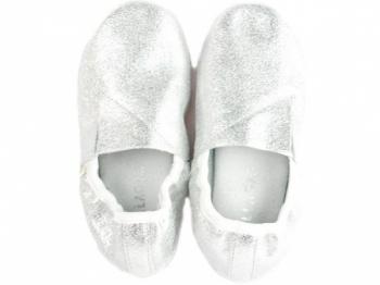 Купить Детская обувь, Чешки Pellagio, кожа, р.32, серебристый (040/34), Украина, Серебристый