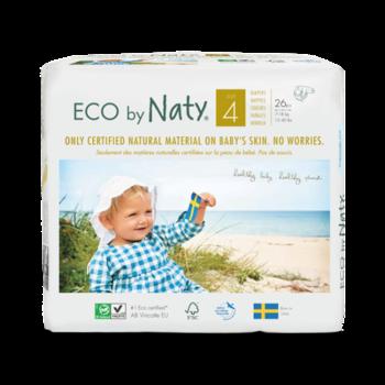 e24be9ba0db2 ЭКО Подгузники Naty 4 (7-18 кг), 26 шт.   Купить в интернет-магазине ...