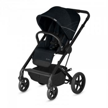 Купить Детские коляски, Прогулочная коляска Cybex Balios S Lavastone Black, черный (518001039), Германия
