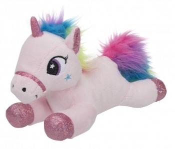 Купить Мягкие игрушки, Мягкая игрушка Toy World Единорог Розовый с радужной гривой, 20 см (5232)