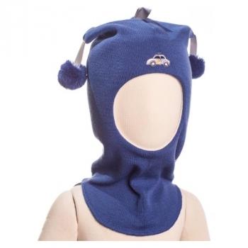 Купить Головные уборы, Шапка-шлем Kivat Police car, р.1, синий (455-62-1), Финляндия, Синий, Шерсть