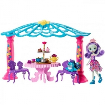 Купить Фигурки, куклы и игрушки-антистресс, Игровой набор Enchantimals Беседка павлины Петтер (FRH49)