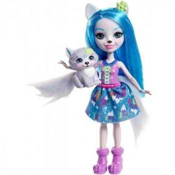 Купить Фигурки, куклы и игрушки-антистресс, Кукла Enchantimals Волченок Уинсли (FRH40)