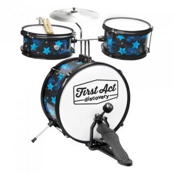 Купить Интерактивные и музыкальные игрушки, Барабанная установка First Act Drum Set, с сидением (FD3018), Китай