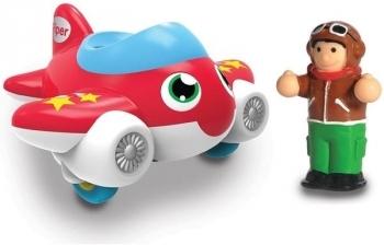 Купить Игрушечный транспорт, Игрушка WOW Toys Jet Plane Piper Самолет Пайпер (10411), Великобритания