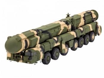 Купить Конструкторы и трансформеры, Сборная модель Revell Баллистический ракетный комплекс TOPOL SS-25 Sickle 1988 г., СССР, 5 уровень (3303)