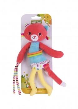 Подвески, дуги и растяжки, Игрушка-подвеска Baby Team Котенок, вибрирующая (8541 Котенок)  - купить со скидкой