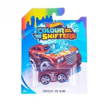Купить Игрушечный транспорт, Машинка Hot Wheels Измени цвет Chrysler 300 Bling (BHR15), Красный