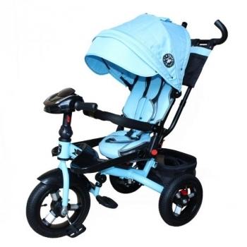 Купить Электромобили, велосипеды и самокаты, Велосипед Mini Trike, голубой (T400-17 jeans блакитний), Китай, Голубой