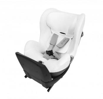 Летний чехол для автокресла Cybex Sirona Q White, белый (517002245)