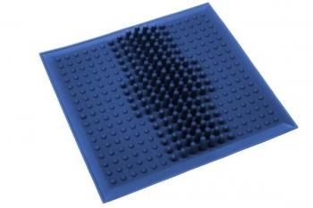 Купить Развивающие и игровые коврики, Массажный коврик OnhillSport от плоскостопия, 26х26 см, синий (MS-1209), Украина, Синий