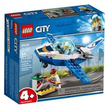 Купить Конструкторы и трансформеры, Конструктор LEGO City Воздушная полиция: патрульный самолет, 54 детали (60206)
