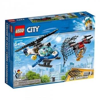 Купить Конструкторы и трансформеры, Конструктор LEGO City Воздушная полиция: погоня дронов, 192 детали (60207)