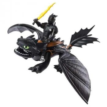 Купить Фигурки, куклы и игрушки-антистресс, Игровой набор Dragons Как приручить дракона 3 Беззубик и всадник Иккинг (SM66621/7311), Китай