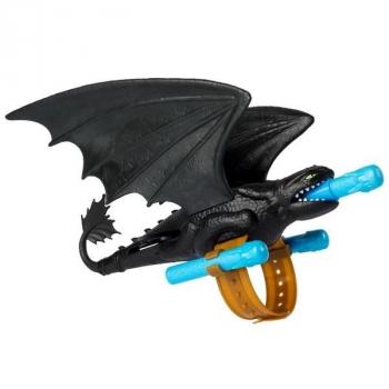 Купить Фигурки, куклы и игрушки-антистресс, Дракон-бластер на руку Dragons Как приручить дракона 3 Беззубик (SM66627), Китай