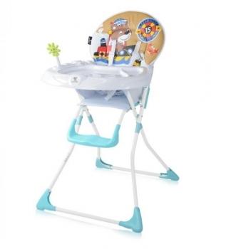 Купить Стульчики для кормления и бустеры, Стульчик для кормления Lorelli Jolly Мишка, белый с голубым (20971), Lorelli (Bertoni), Болгария, Белый