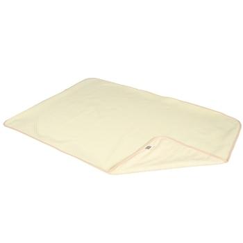Купить со скидкой Многоразовая непромокаемая пеленка ЭКО ПУПС Jersey Classic, двусторонняя, хлопок, 90х65 см, желтый (