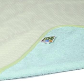 Фото #1: Многоразовая непромокаемая пеленка ЭКО ПУПС Jersey Classic, двусторонняя, хлопок, 90х65 см, зеленый