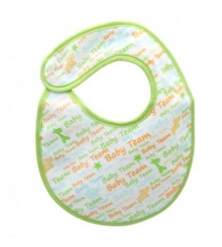 Купить Слюнявчики и нагрудники, Нагрудник на липучке Baby Team Надписи, маленький (6501)