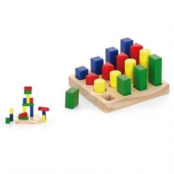 Купить Конструкторы и трансформеры, Конструктор Viga Toys Форма и размер (51367), Китай
