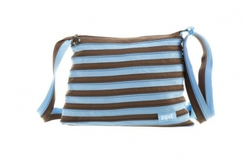 Сумка Zipit Medium Ocean Blue & Soft Brown (ZBD-4)